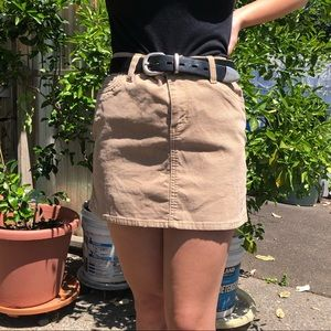 Gap Corduroy Mini Skirt